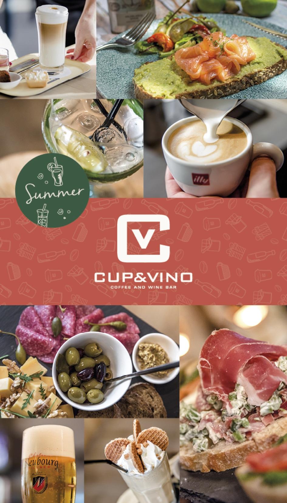 De zomerse menukaart van Cup & Vino