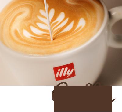 Een lekker kopje koffie krijg je bij Cup & Vino