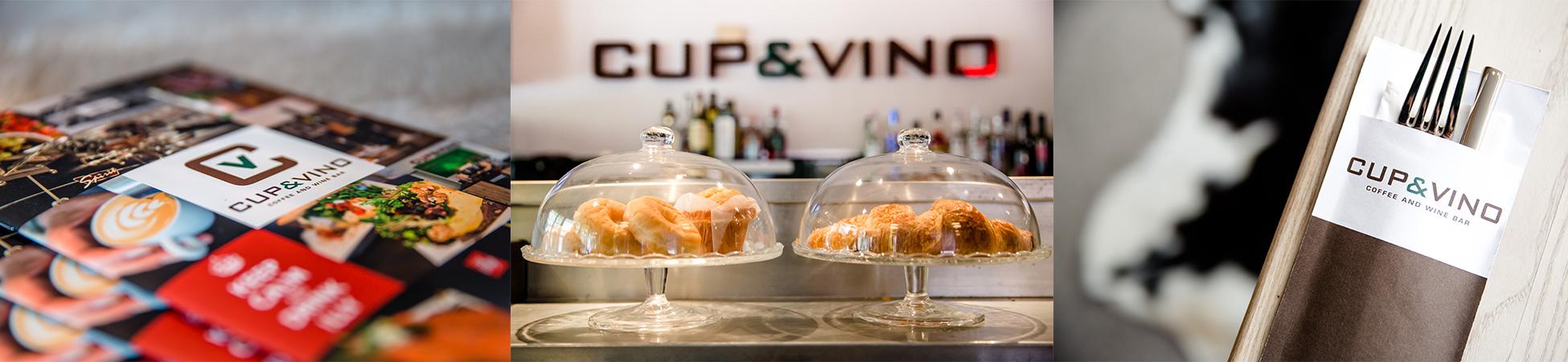 De diverse locaties van Cup & Vino